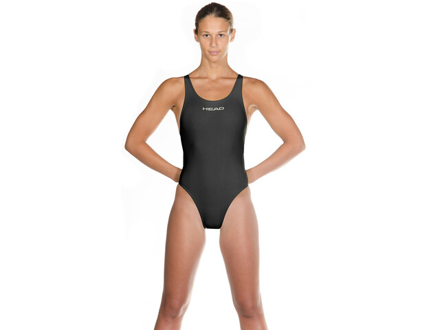 Head Liquidfire Power Tank Swimsuit Women, black/silver